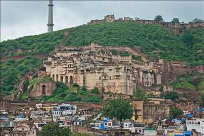 The City of Bundi in Rajasthan-Credit Google
