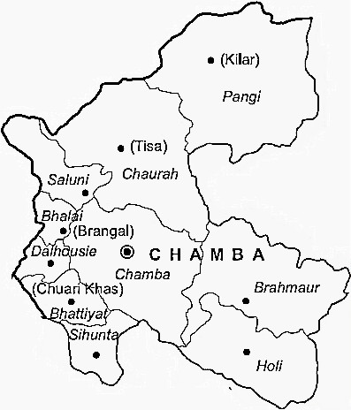 Administration in Chamba
