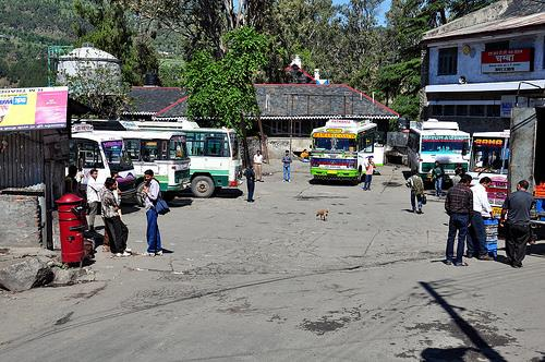 Pathankot Bus Stand