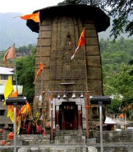Manimahesh Temple in Bharmour