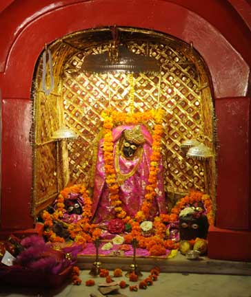 Deity enshrined at Chandi Temple of Chandigarh