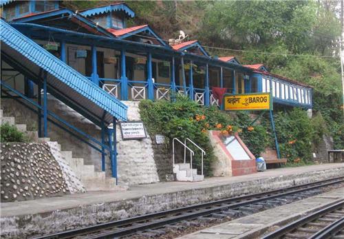 Historical Railway station of Barog near Chandigarh