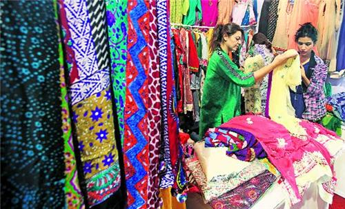 Silk Expo in Chandigarh