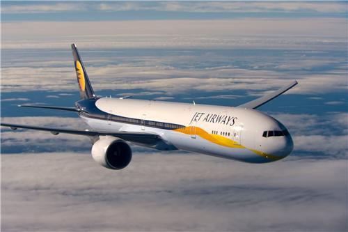 Jet Airways Flight from Chandigarh