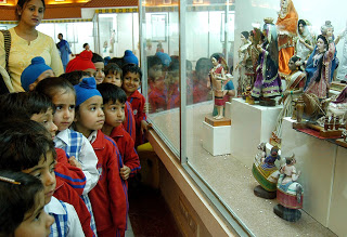 Visitors in Doll Museum Chandigarh