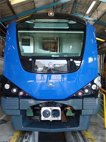 Chennai Metro Rail - Front Side