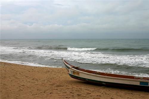 Covelong Beach in Chennai