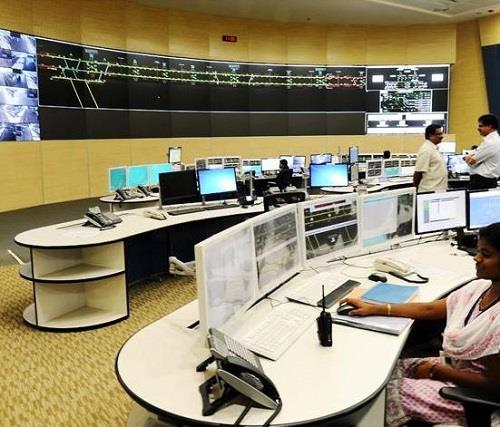 Chennai Metro Control Center