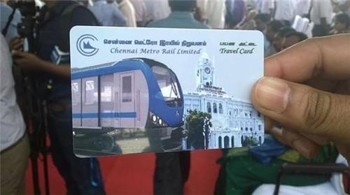 Chennai Metro Travel Card