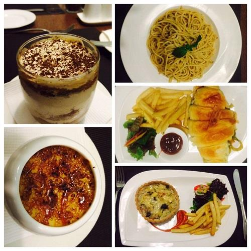 Food at Ciclo Cafe