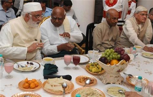 Tamil Nadu Governor at an Iftar PArty