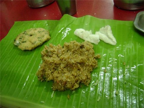 Sambar Rice of Karpagambal Mess