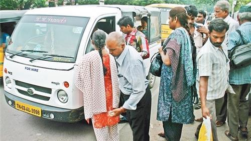 Share Autos in Chennai City
