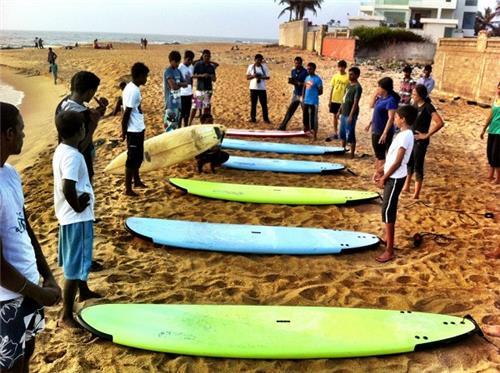 Covelong Point Surf School