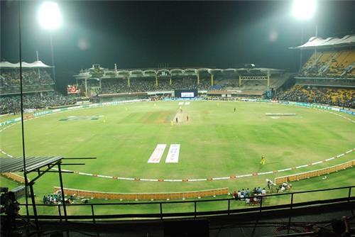 Chepauk Stadium in Chennai