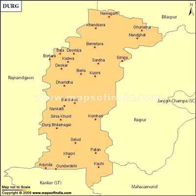 Constituencies in Durg