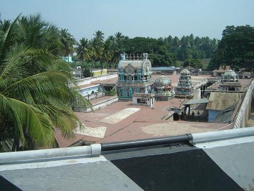 View of Uthamar Kovil