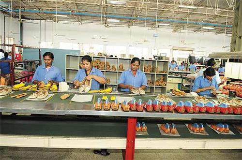 Leather Factory in Vellore