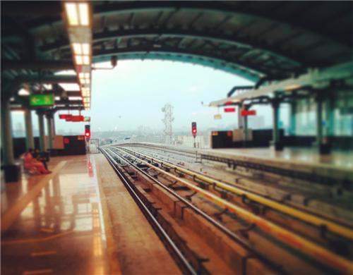 Bangalore Metro Rail View