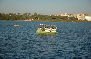 Boating in Lumbini Gardens