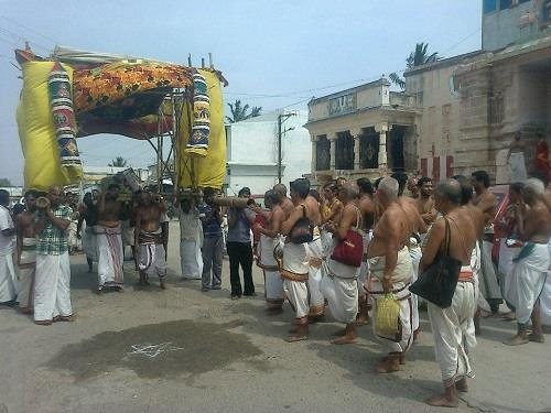 Festival at Thiruvellarai Sri Pundarikaksha Perumal Temple