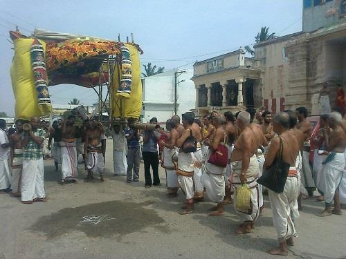 Festival at Thiruvellarai Sri Pundarikaksha Perumal Temple