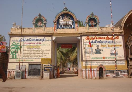 Entrance of Arulmigu Gneelivaneswarar Temple