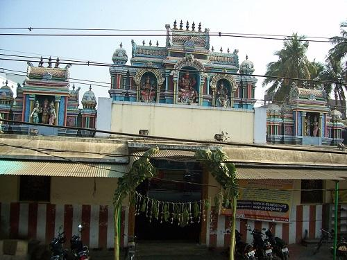 Entrance of Vekkaliamman Temple