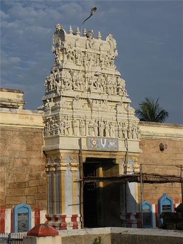 Gateway Tower at Thiruvellarai Sri Pundarikakshan Perumal Temple