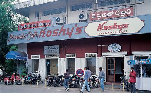 Koshy's in Bangalore