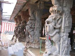 Pillars of the Kothandaramar Temple, Salem