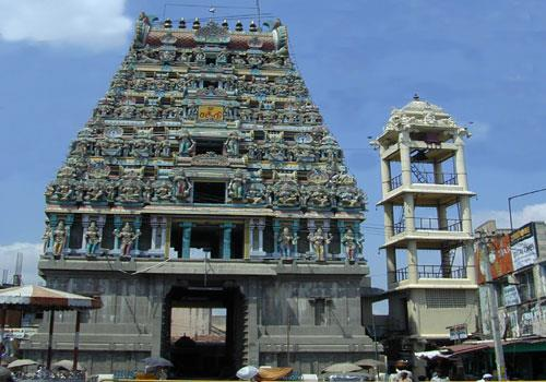 Mari Amman temple in Salem TN