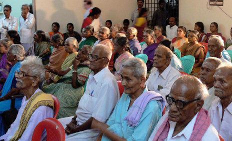 Old Age Home in Vellore