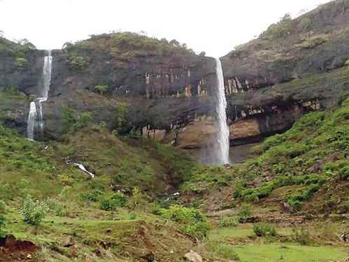 Waterfalls in Navi Mumbai