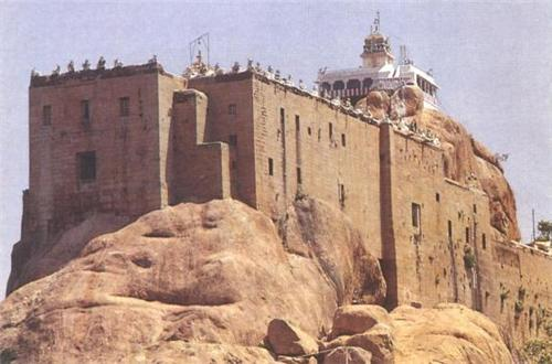 Rock Fort in Trichy