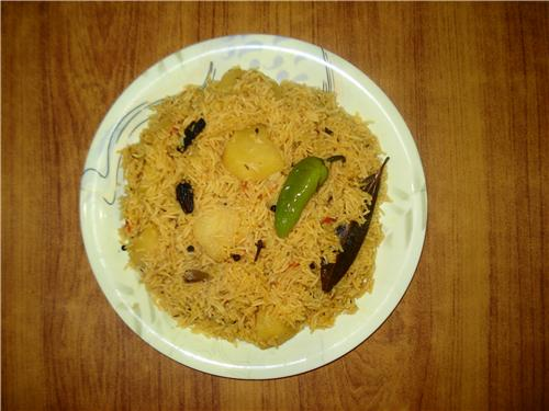 Tehri-The famous Yellow Rice of Nanded