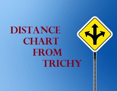 Trichy Distance Chart