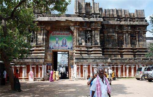 Incomplete Arulmigu Gneelivaneswarar Temple Tower