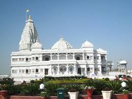 A famous mandir in Vrindavan