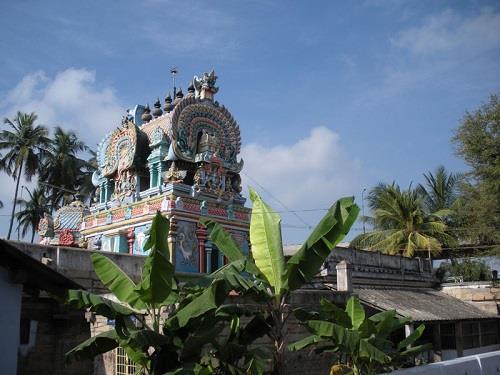 Lord Purushothaman Perumal Shrine in Uthamar Kovil