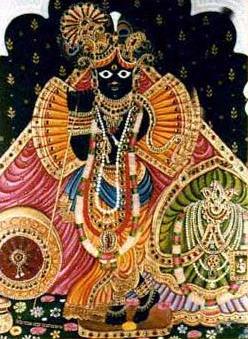 Bihari Ji in Vrindavan