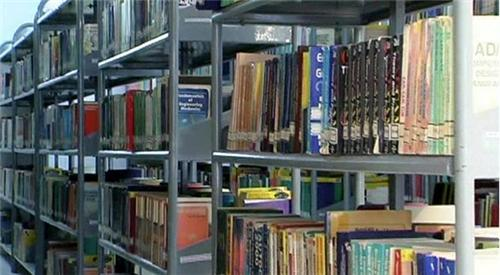 Books at Annapoorna Central Library, Salem