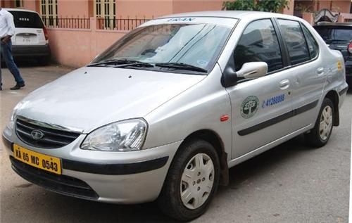 Tata Indigo is the most commonly used Cab in Bangalore