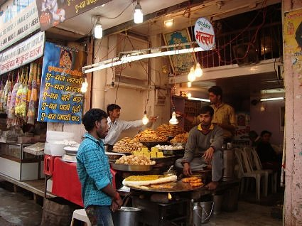 Street Food in Vrindavan