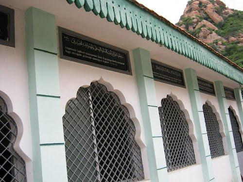 Wall of the Jama Masjid, Salem