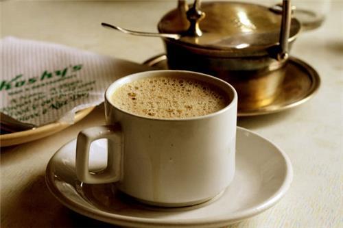 Coffee at the Koshy's