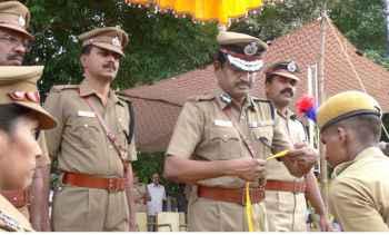 Tamil Nadu Police in Vellore