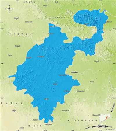 Geography of Nanded