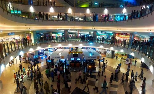 Image result for shopping at mantri square