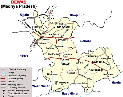 Geography of Dewas